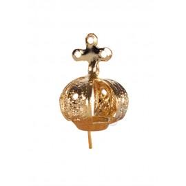 Coroa para Nossa Senhora de Fátima 12cm a 17cm, Chapa 3 furos