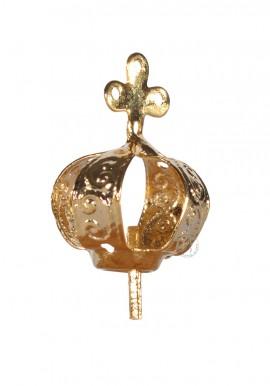 Corona para Nuestra Señora de Fátima 12cm a 17cm, Chapa 4 agujeros