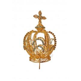Coroa para Nossa Senhora de Fátima 100cm a 120cm, Filigrana (Rica)