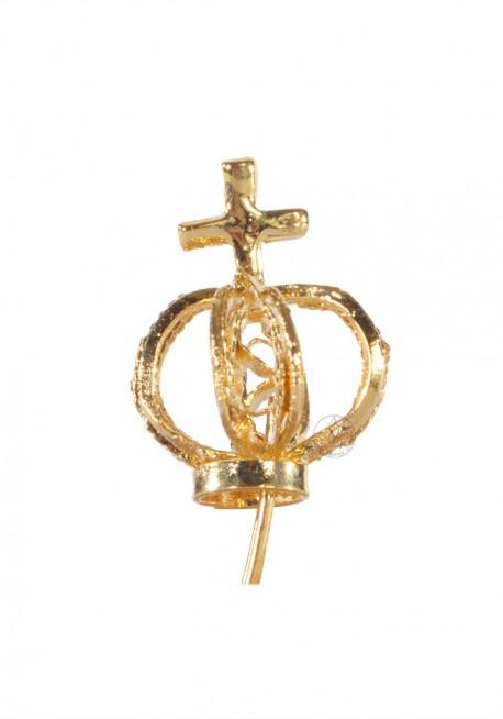 Coroa para Nossa Senhora de Fátima 11cm a 17cm, Filigrana