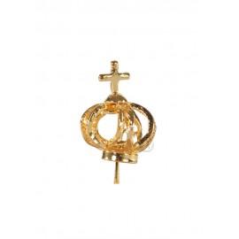 Corona para Nuestra Señora de Fátima 17cm a 22cm, Filigrana
