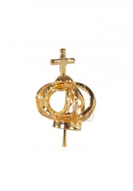 Coroa para Nossa Senhora de Fátima 17cm a 22cm, Filigrana