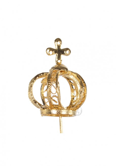 Crown for Our Lady of Fatima, 22cm to 28cm, Filigree