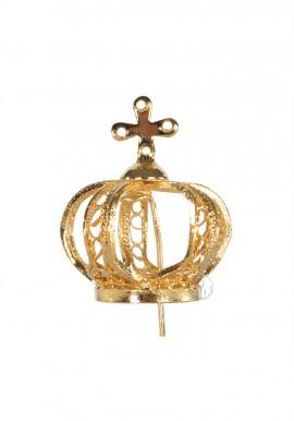 Coroa para Nossa Senhora de Fátima 28cm a 35cm, Filigrana