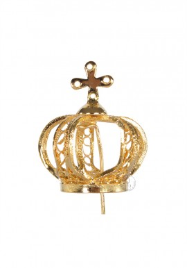 Crown for Our Lady of Fatima, 28cm to 35cm, Filigree