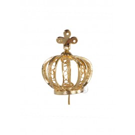 Coroa para Nossa Senhora de Fátima 35cm, Filigrana