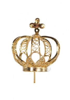 Crown for Our Lady of Fatima 35cm to 45cm, Filigree