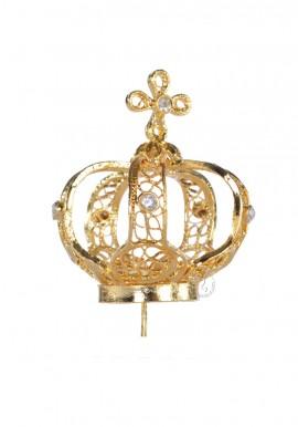 Coroa para Nossa Senhora de Fátima 35cm a 45cm, Filigrana