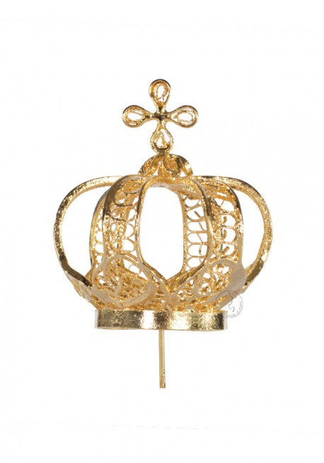 Crown for Our Lady of Fatima 45cm, Filigree