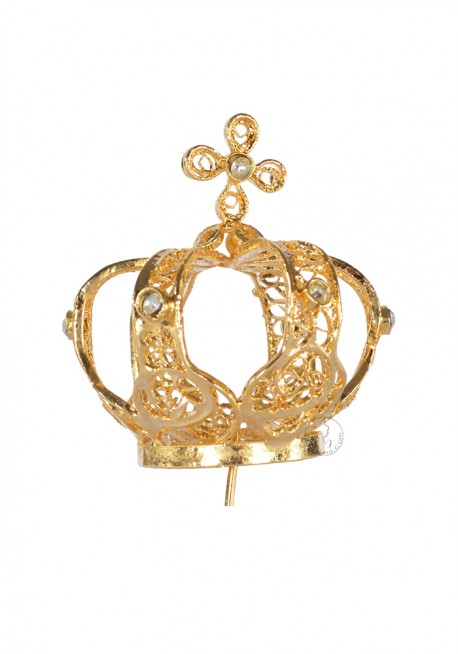Coroa para Nossa Senhora de Fátima 45cm a 53, Filigrana