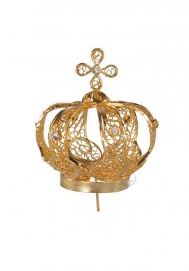 Coroa para Nossa Senhora de Fátima 53cm, Filigrana