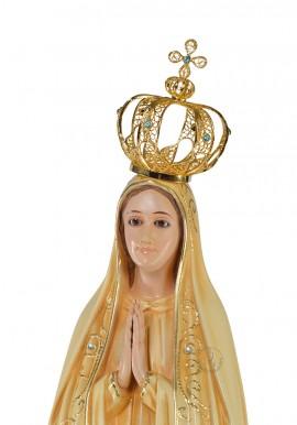 Coroa para Nossa Senhora de Fátima 53cm a 64cm, Filigrana