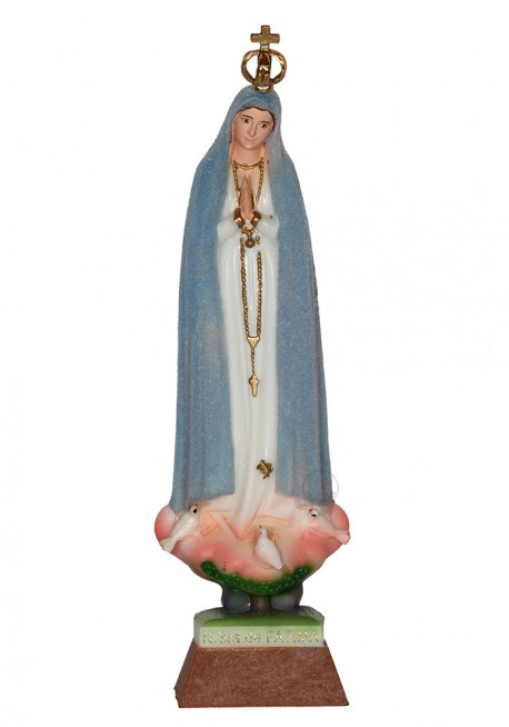 Our Lady of Fatima, Peregrina, mod. Weather 20cm