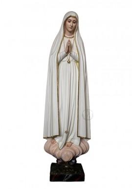 Our Lady of Fatima Pilgrim in Wood 105cm