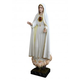 Imaculado Coração de Maria em Madeira 103cm