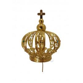 Corona para Nuestra Señora de Fátima 60cm, Plástico