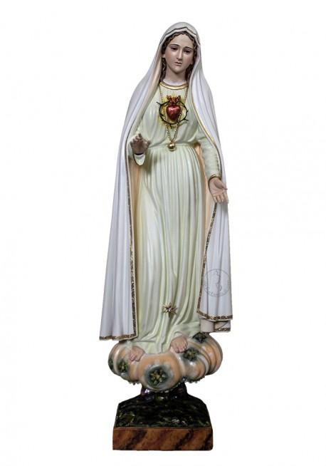 Imagen del Inmaculado Corazón de María en Madera 60cm