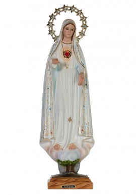 Imaculado Coração de Maria c/ Olhos de Cristal