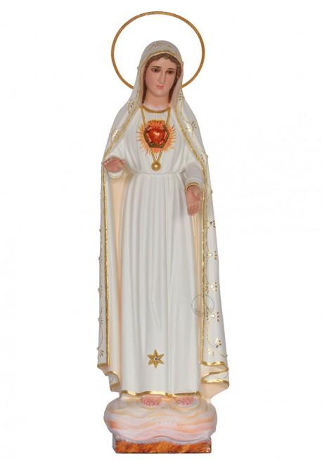 Imaculado Coração de Maria com Ouro Fino, 40cm