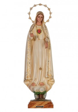Immaculate Heart of Mary, Patinated