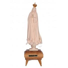 Nossa Senhora de Fátima, Imitação Marfim c/ Música