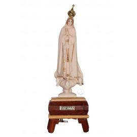 Nuestra Señora de Fátima, Imitación de Marfil con Galón e Música