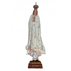 Our Lady of Fatima, Classic w/ Crystal Eyes