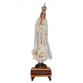 Nossa Senhora de Fátima, Clássica c/ Música e Olhos de Cristal