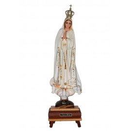 Our Lady of Fatima, Classic w/ Crystal Eyes and Music