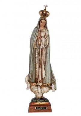 Nuestra Señora de Fátima, granitada con ojos pintados