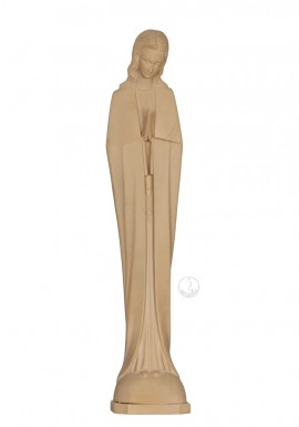 Our Lady of Fatima, Stylized, in Ivory Imitation