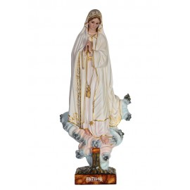 Our Lady of Fatima, Azinheira, in Wood 60cm