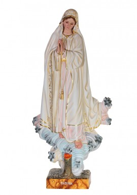 Our Lady of Fatima, Azinheira, in Wood 100cm