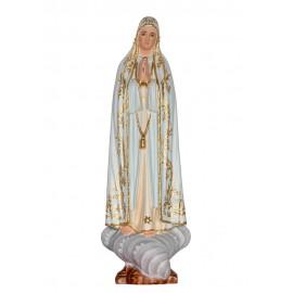 Nossa Senhora de Fátima Capelinha em Madeira 30cm