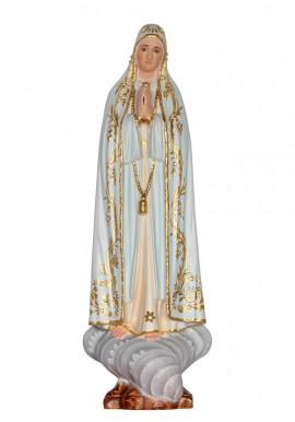 Imagem de Nossa Senhora de Fátima em Madeira 30cm