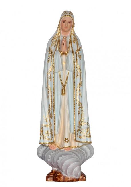 Imagen de Nuestra Señora de Fátima Capelinha en Madera 30cm