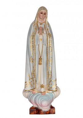 Our Lady of Fatima, Capelinha, in Wood 30cm