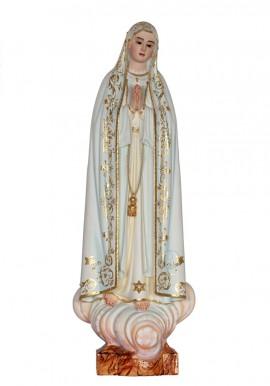 Imagen de Nuestra Señora de Fátima Capelinha en Madera 37cm