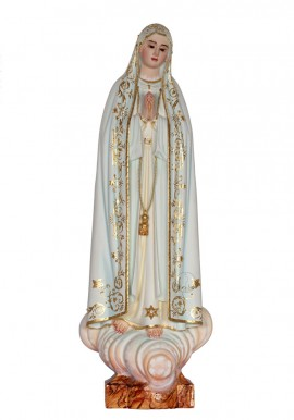 Our Lady of Fatima, Capelinha, in Wood 37cm