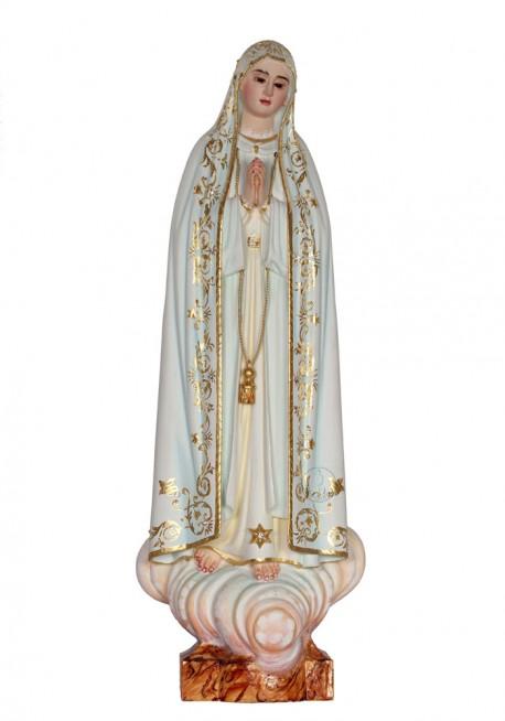 Nossa Senhora de Fátima Capelinha em Madeira 37cm