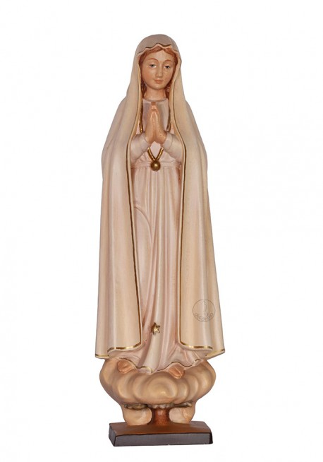 Nuestra Señora de Fátima, Peregrina en madera