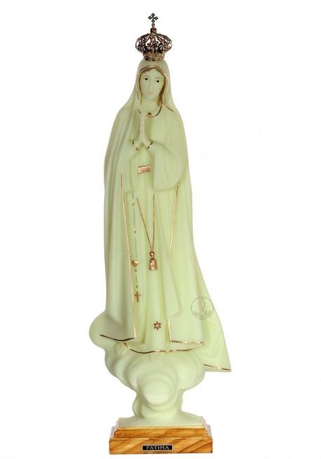 Nossa Senhora de Fátima, Luminosa c/ Galão 53cm
