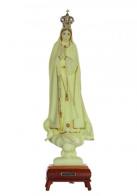 Our Lady of Fatima, Luminous w/ Gallon and Music