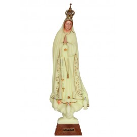 Our Lady of Fatima, Luminous w/ Skirting