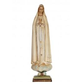 Our Lady of Fatima Pilgrim, Patinated in Marfinite 49cm