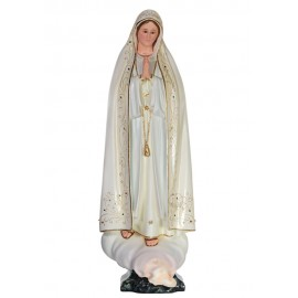 Our Lady of Fatima, in Terracotta