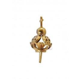 Corona para Nuestra Señora de Fátima 07cm a 15cm, Plástico