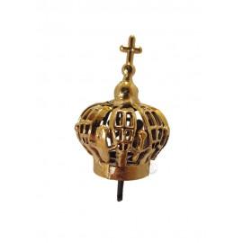 Corona para Nuestra Señora de Fátima 20cm, Plástico