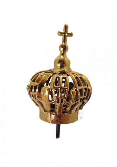 Coroa para Nossa Senhora de Fátima 15cm a 20cm, Plástico