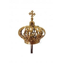 Coroa para Nossa Senhora de Fátima 40cm, Plástico
